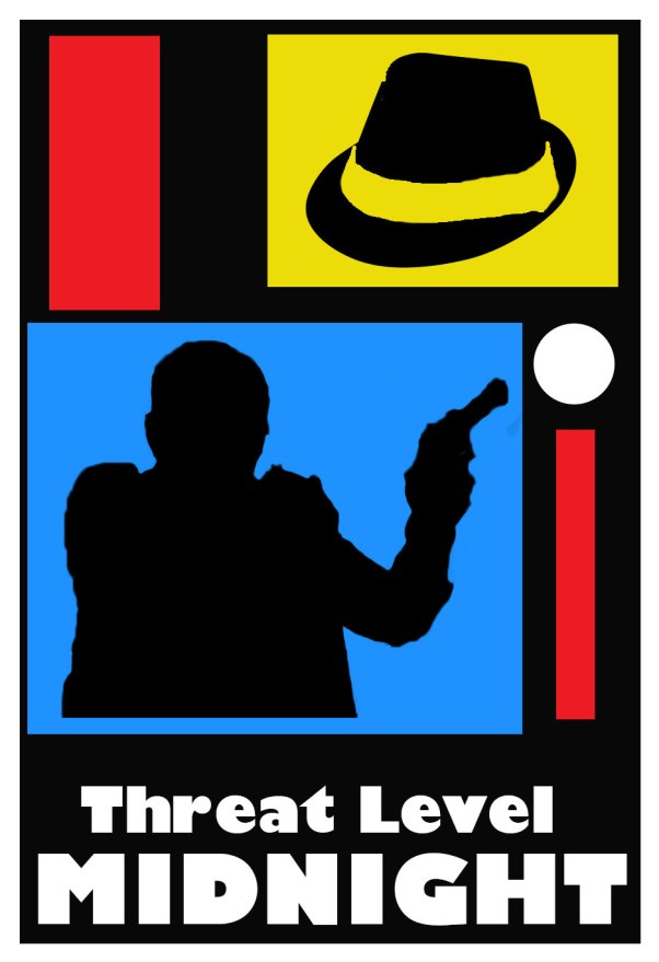 mashup of the opening of archer and Micheal Scott's Threat Level Midnight