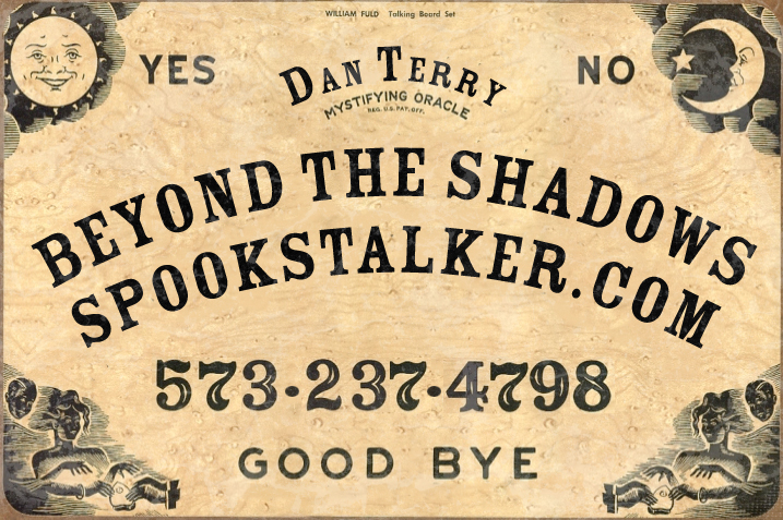 Monday Mashup: Spookstalker came to me because he was starting a podcast and needed a logo for it. He wanted to be in the style of an old Ouija Board. I am happy to say this is the results. The Podcast can be found on Youtube under Beyond the Shadows: