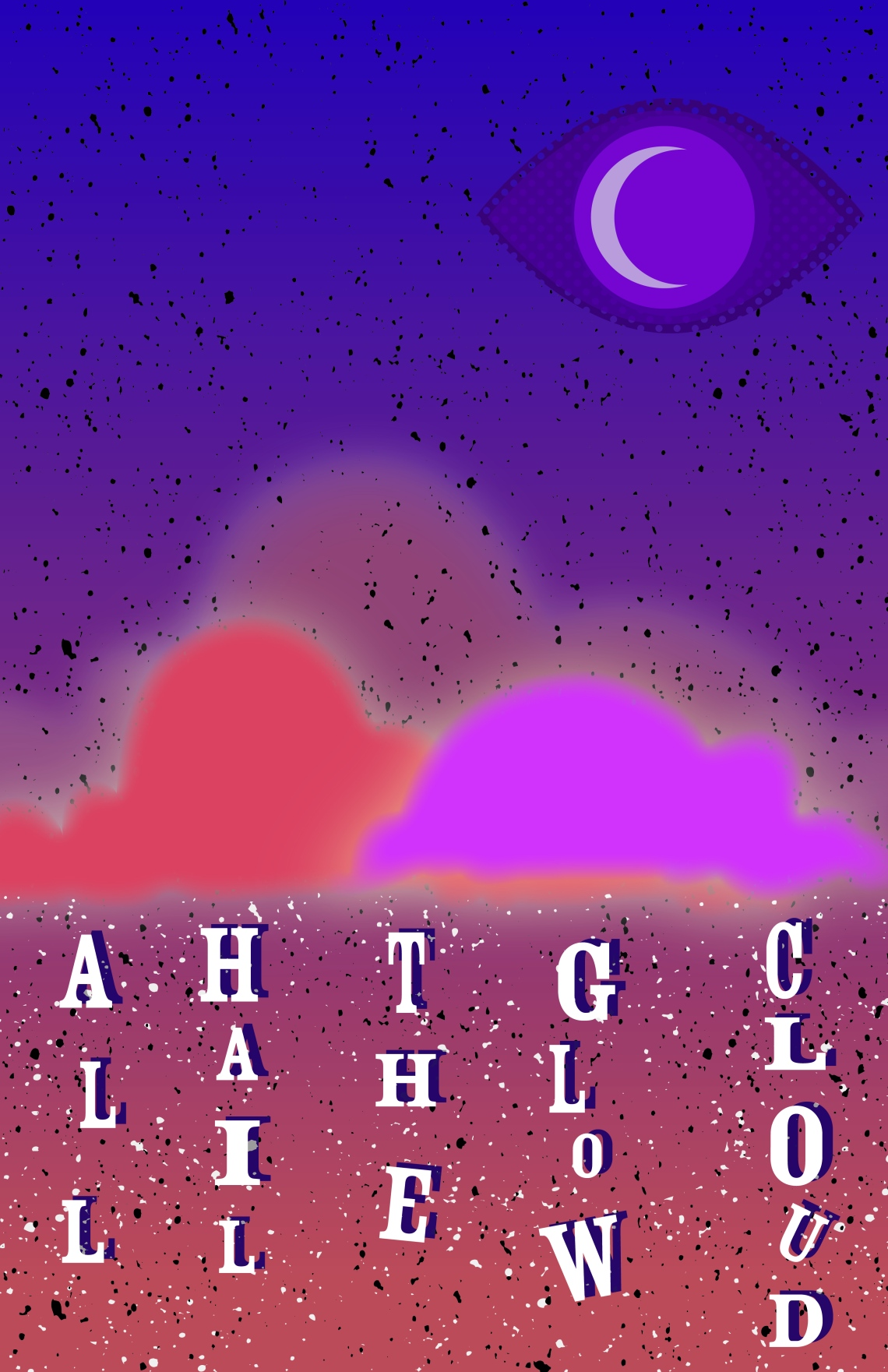 Monday Mashup: Over Christmas Garrett Luecke gave me the Welcome to Night Vale book and for a while I have a tutorial for different retro designs. So we must hail the glow cloud with this mashup.