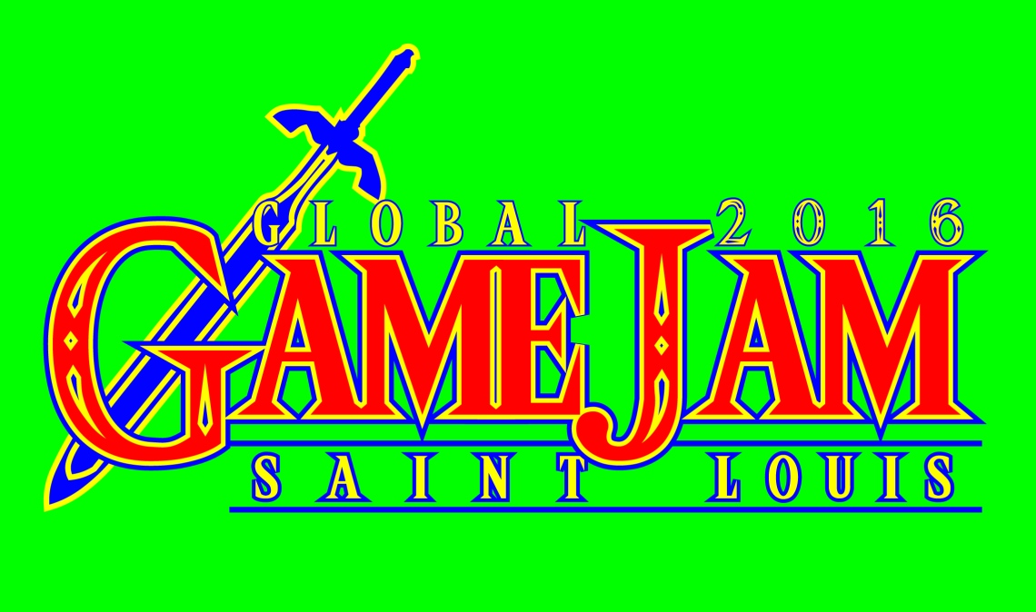 Zelda and game jam logo mashup.