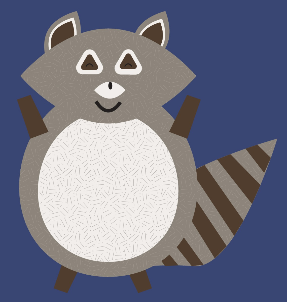 fat racoon