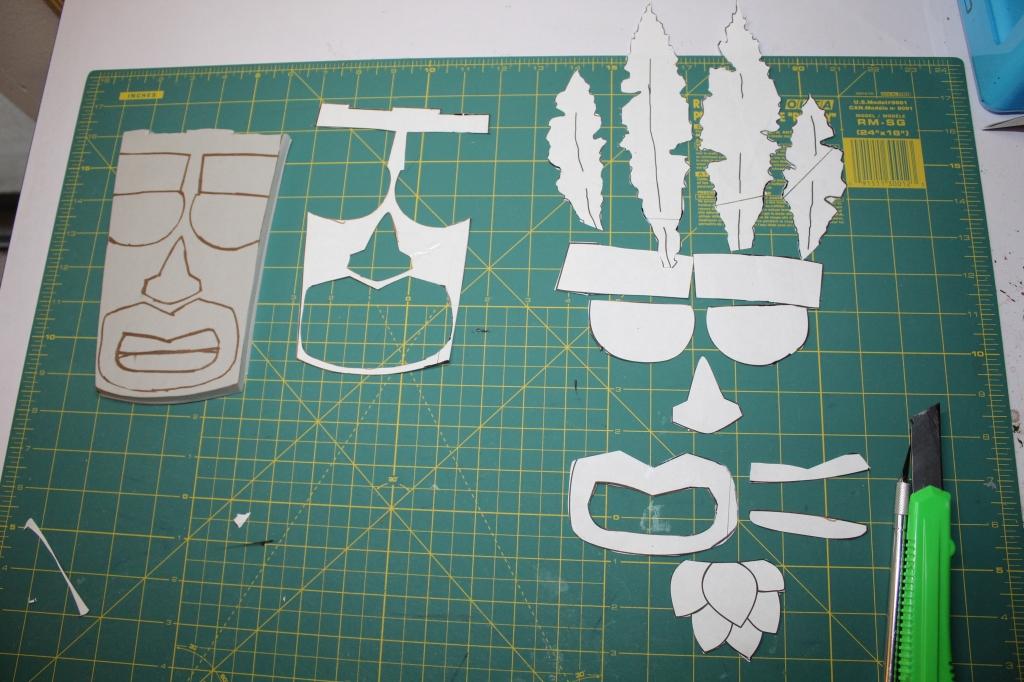 pattern cut apart